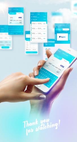 Redesign UI-航班机票IOS应用程序界面设计