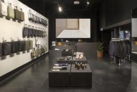 瑞士背包品牌QWSTION艺术馆电影院零售体验店铺