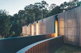 澳大利亚现代化玻璃凉亭家庭住宅