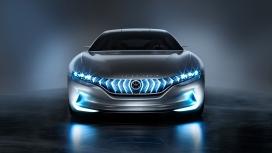 高清晰蓝光混合动力GT车壁纸