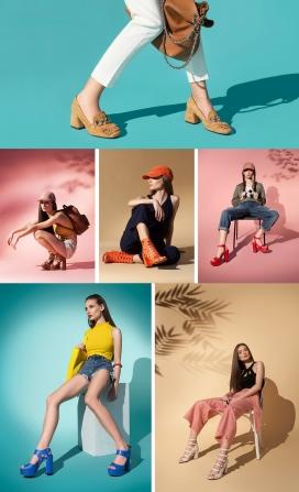 INGILIZ-鞋春夏广告摄影