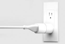 建立在苹果停产MagSafe设计上的磁性插头-插头由两块磁性材料组成