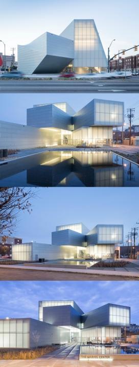 3809平米的弗吉尼亚联邦大学当代艺术中心