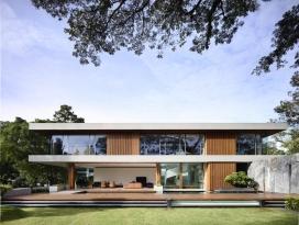 新加坡郁郁葱葱绿色花园别墅