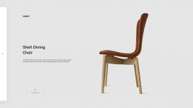 丹麦Mater-椅子家具网页设计