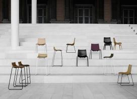 传奇的丹麦品牌Carl Hansen&Søn第一次与美国设计师Brad Ascalon合作发布了110年历史上的椅子