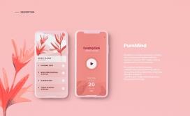 PureMind | iOS应用程序和插图
