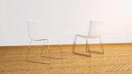 1955线框座椅-真实而简约透明的个性