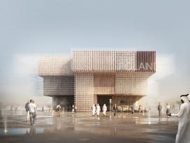 2020迪拜世博会波兰馆脱颖而出 -建筑灵感来自飞翔鸟群