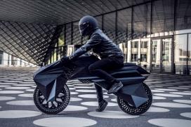 世界首款全3D打印电子摩托车