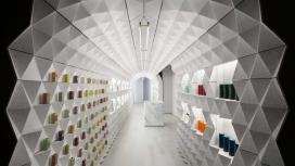 纽约Claus Porto隧道精品店