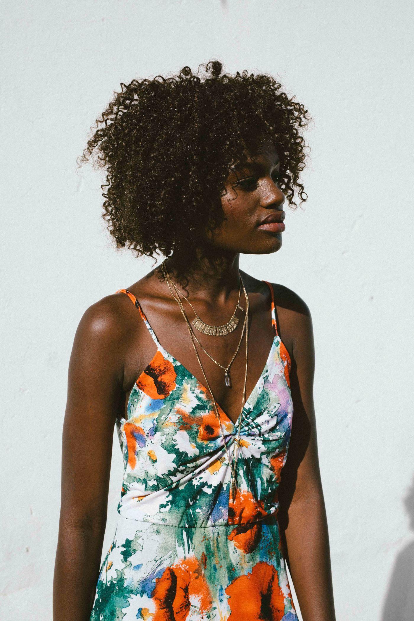 高清晰非洲女性部落美人壁纸 欧莱凯设计网