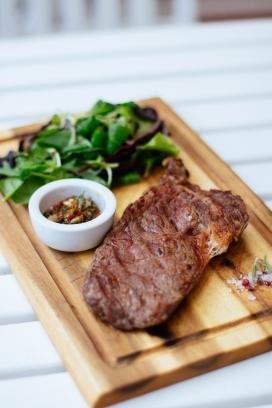 高清晰美味牛排西餐壁纸