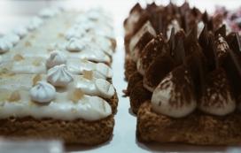 高清晰美味巧克力蛋糕壁纸