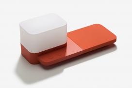 三星Block-无线充电器和智能灯