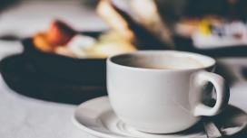 高清晰下午茶白色咖啡杯壁纸
