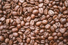 颗粒饱满的咖啡豆