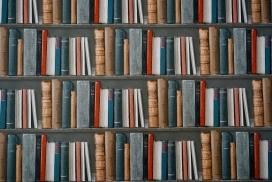高清晰书架壁纸
