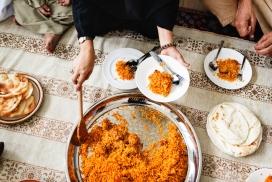 阿拉伯菜炒饭