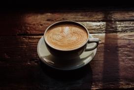 高清晰拉花咖啡壁纸