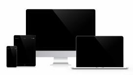 高清晰苹果电脑与笔记本电脑壁纸