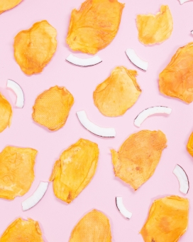 高清晰烤薯片壁纸