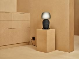 宜家和Sonos推出的台灯书架式扬声器