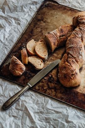 高清晰烘焙牛角面包壁纸