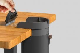 Bin一个整理工作区的紧凑垃圾桶!