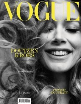 杜晨·科洛斯-Vogue波兰-古老性感优雅的好莱坞