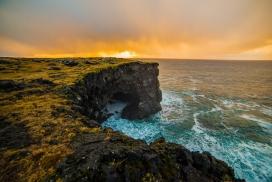海岛的日出