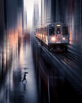 火车站美景
