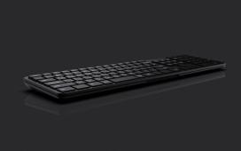 可以分开两半以便轻松进行按键清洁的Jung Min Kim键盘
