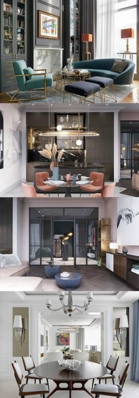 3个突出艺术的家居室内设计