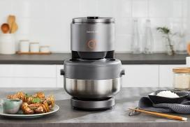 确保米饭在几分钟内煮熟的Joyoung蒸汽电饭煲