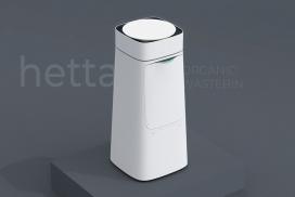 可以使你有机废物量减少60%的Hetta垃圾桶