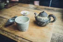 历史悠久的茶壶水