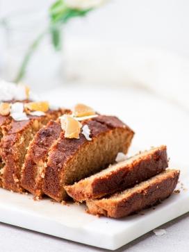 酥松的蛋糕