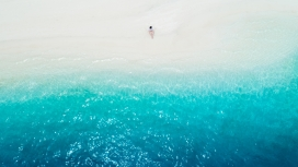 湛蓝的大海
