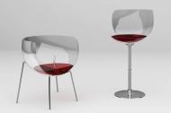 增添居住空间所需嗡嗡声的有趣酒杯形椅子