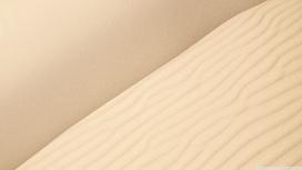 细滑的沙漠