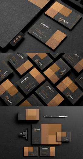 BDB Group创新公司品牌视觉设计欣赏