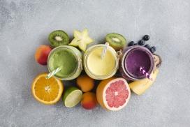 榨果汁的水果