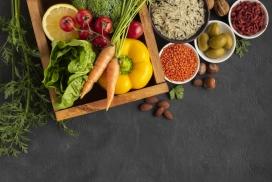 丰盛的蔬菜食材