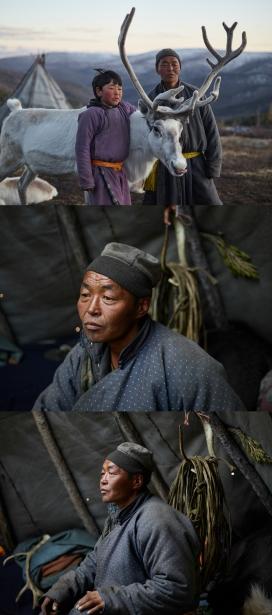Reindeer people-蒙古北部驯鹿人肖像