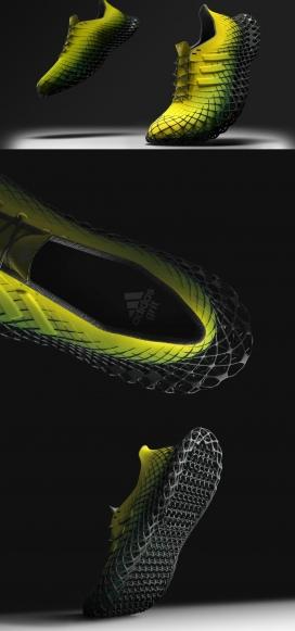 模仿在沙滩上奔跑沉没感的阿迪达斯(Adidas)Grit鞋