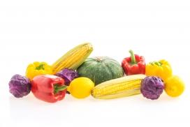 玉米南瓜蔬菜图