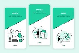 绿色环保类手机APP素材下载