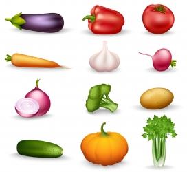 健康蔬菜素材下载