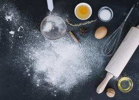 做面包蛋糕的工具与材料